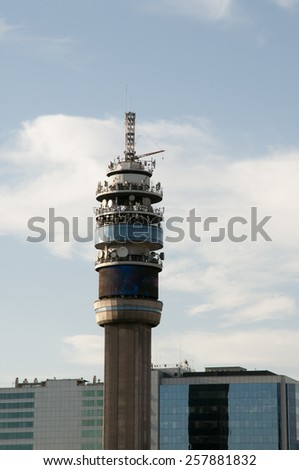 Telecommunication Tower - Santiago - Chile