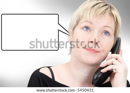 telefon stress 2 v2 - stock photo