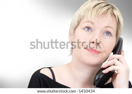 telefon stress 2 v3 - stock photo