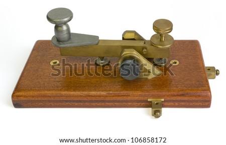 Telegraph Key - stock photo