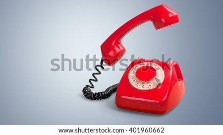 Telephone. - stock photo