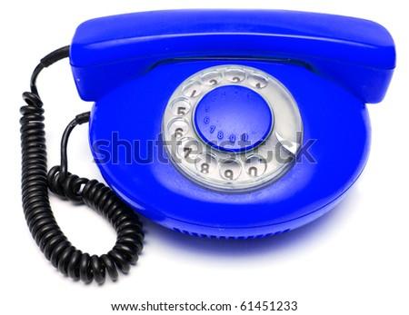 telephone old - stock photo