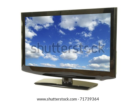 television - stock photo