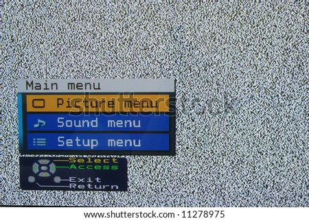 television channel search - stock photo