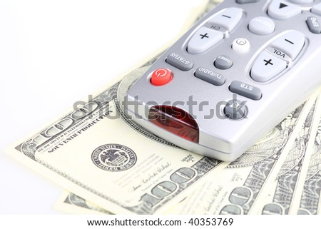 Television remote control. Paid TV.