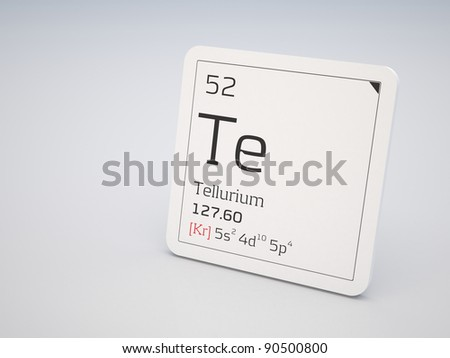 Tellurium - element of the periodic table