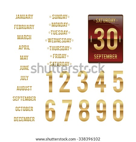 counting numbers stock images royalty free images vectors shutterstock. Black Bedroom Furniture Sets. Home Design Ideas