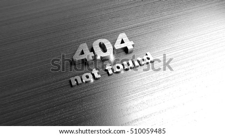 Template Website Error 404 Page Not Stock Photo (Royalty Free ...