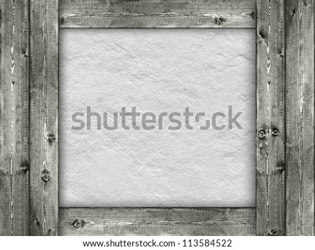Template - wood and rough wall background