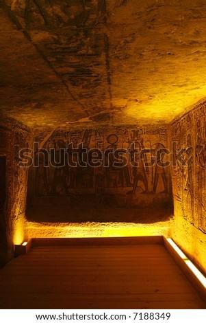 temple abu-simbel - egypt - stock photo