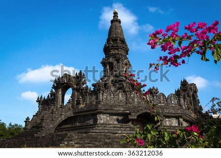 Temple at Bali, Indonesia