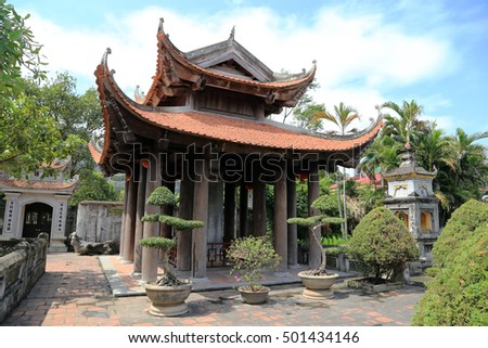 temple at nin binh