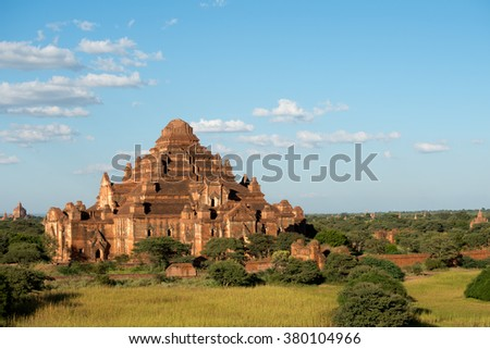 Temple in Bagan, Myanmar (Burma). - stock photo