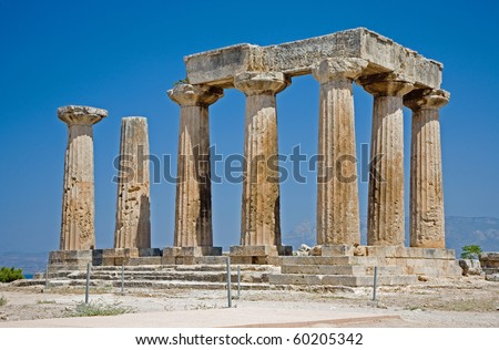Temple of Apollos, Corinth