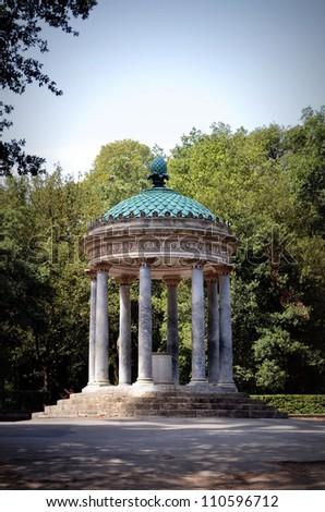 Temple of Diana (Tempietto di Diana), Rome - stock photo