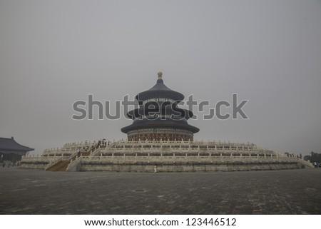 Temple of heaven, Beijing, China. - stock photo