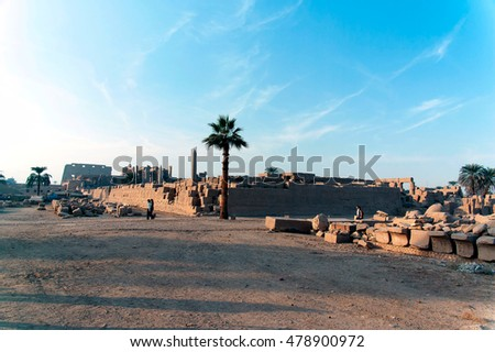 Temples of Luxor and Karnak, Egypt