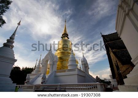temples thailand - stock photo