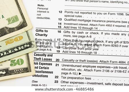 Ten Twenty Dollar Bills Sitting On Stock Photo Royalty Free