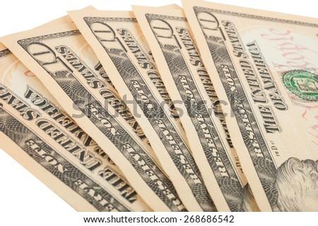 Ten-bill - stock photo