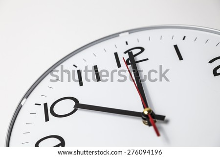 Ten o'clock - stock photo