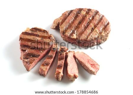 tenderloin beef steak - stock photo