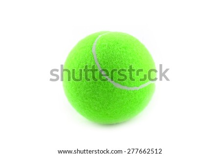 tennis ball as a part of sports equipment