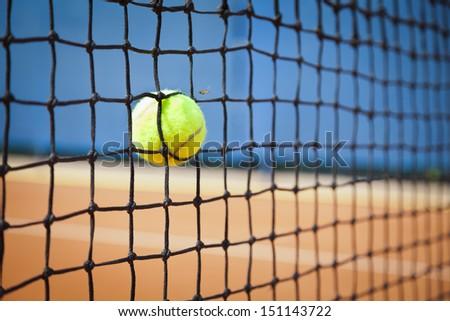 tennis ball concept - stock photo
