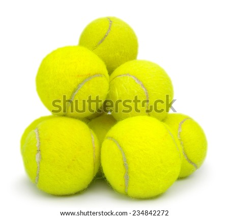 tennis Balls - stock photo
