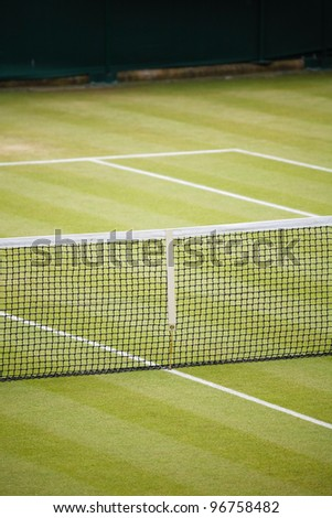 Tennis club - stock photo