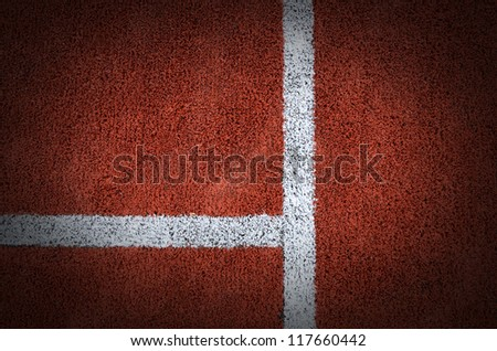 Tennis court grass play game background texture pattern line sport outdoor match for design - stock photo