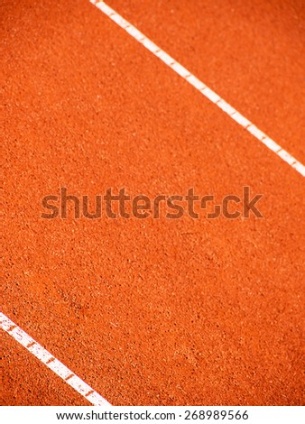 tennis court lines - stock photo