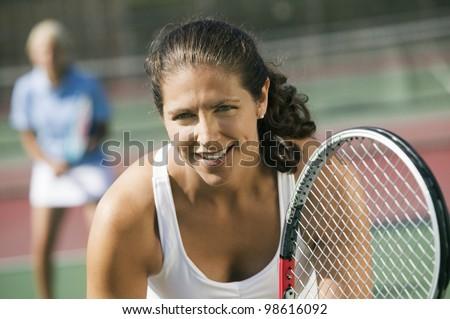 Tennis Players - stock photo