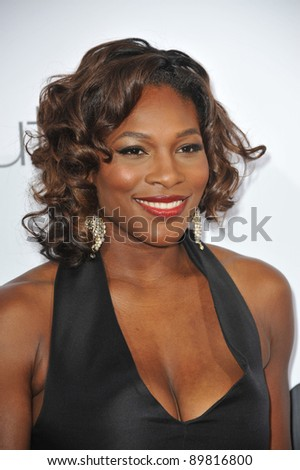 "Tennis star Serena Williams at the premiere of ""The Ugly Truth"" at the Cinerama Dome, Hollywood. July 16, 2009  Los Angeles, CA Picture: Paul Smith / Featureflash"