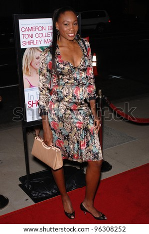 Tennis star VENUS WILLIAMS at the Los Angeles premiere of In Her Shoes. September 28, 2005  Los Angeles, CA.  2005 Paul Smith / Featureflash