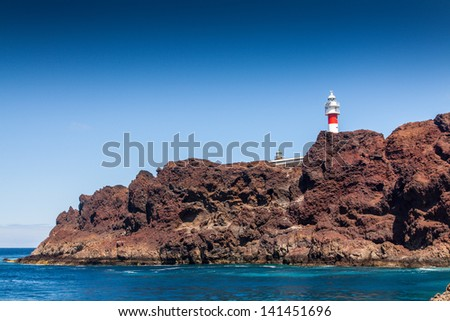 Teno Mountains of Teneriffe, Canary Islands, Spain