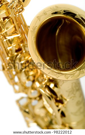 Tenor Saxophone - stock photo