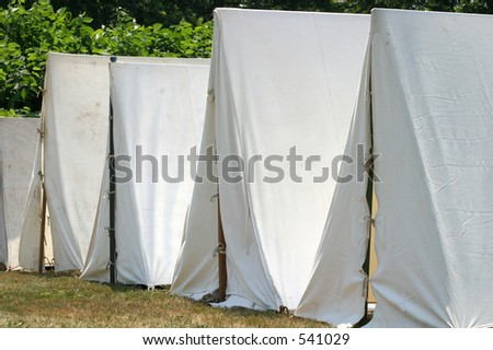 tents - stock photo