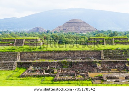 Teotihuacan Pyramids UNESCO Site in Mexico City