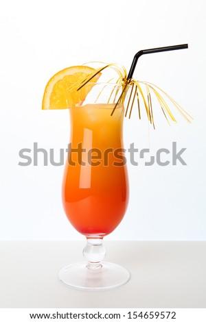 Tequila Sunrise - stock photo