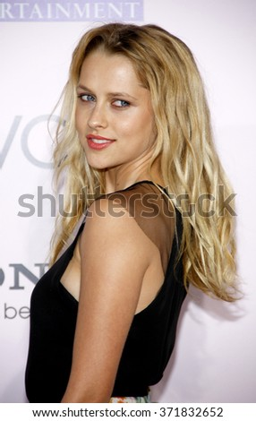 "Teresa Palmer at the Los Angeles Premiere of ""The Vow"" held at the Grauman's Chinese Theater, California, United States on February 6, 2012."