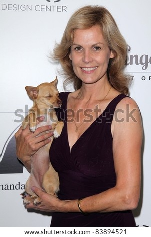 """Teri Austin at the 2nd Annual Patterns for Paws """"Pup-A-Razzi""""Benefiting the Amanda Foundation, Pacific Design Center, West Hollywood, CA. 08-24-11 - stock photo"""