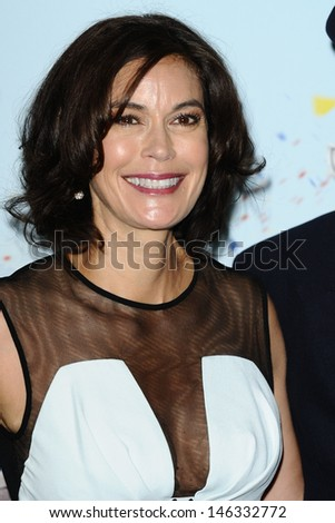 "Teri Hatcher arrives for the ""Disney Planes"" premiere at the Odeon Leicester Square, London. 14/07/2013"