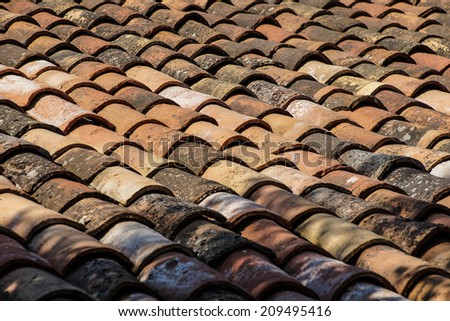 Terra Cotta Roof Stock Photos Images Amp Pictures