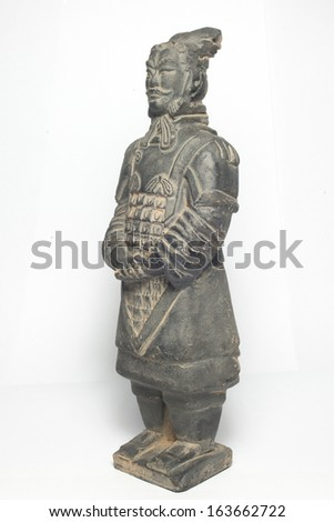 Terra Cotta Warriors(General) - stock photo