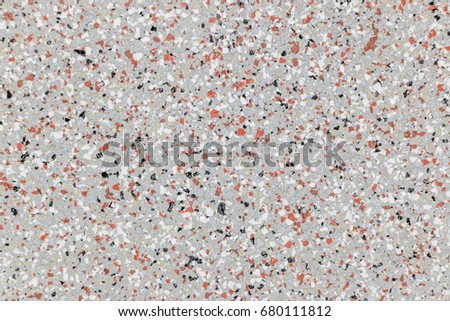 Terrazzo Gray Color Texture Background Is A Mixture Of Rock And Concrete Construction
