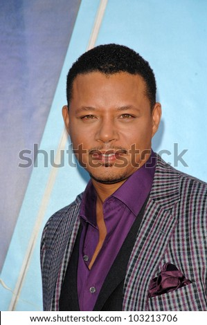 "Terrence Howard  at the ""The Princess And The Frog"" World Premiere, Walt Disney Studios, Burbank, CA. 11-15-09 - stock photo"
