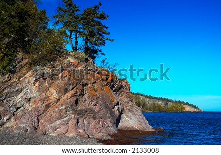 Tettegouche State Park: Lake view from Lake Superior North Shore. More with keyword group15