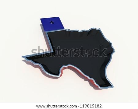 texas frying pan - stock photo