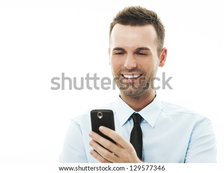 Text Messaging - stock photo